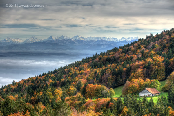 Swiss Autumn – Les Prises, Vaud, Switzerland
