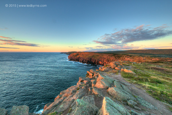 Sunrise on Cape Spear, Newfoundland Canada