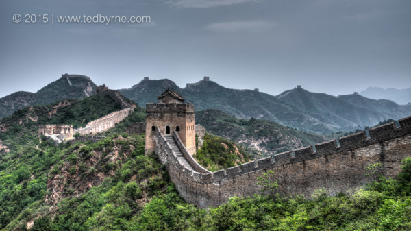 Great Wall near Jinshanling, China