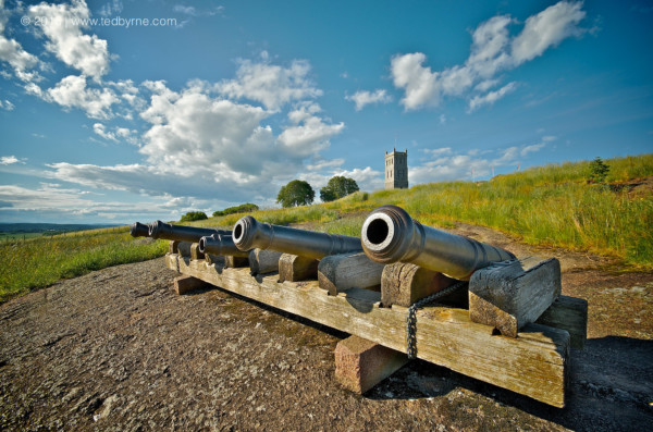 Old cannons and citadel (Tunsbergshus) – Tønsberg, Norway