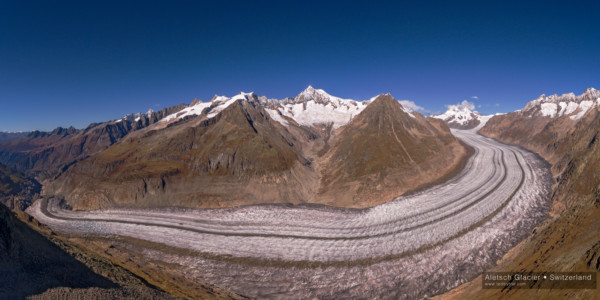 Aletsch Glacier, Valais/Bern